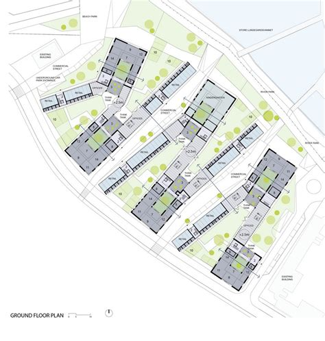 architectural plans social housing in bergen 9 e architect