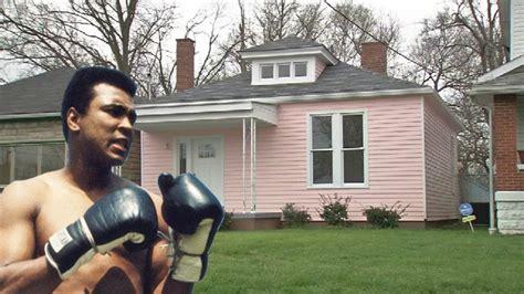 muhammad ali house boxer muhammad ali house youtube
