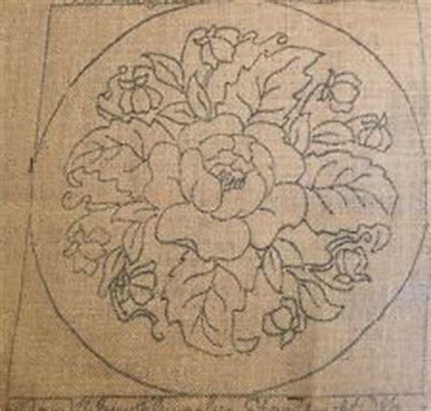 pearl mcgown rug hooking patterns rug hooking pearl mcgown cozumel pattern 12 x 12 ebay
