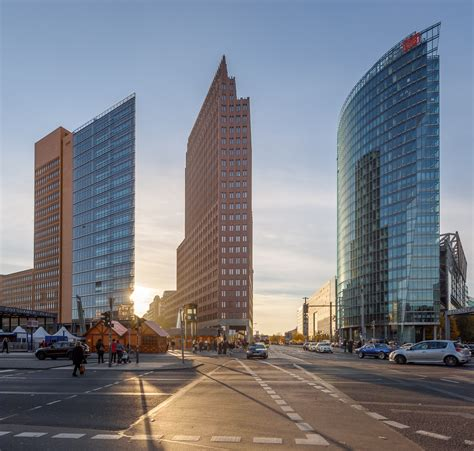 berlin potsdamer platz berlin architecture guide part 2 the architecture of