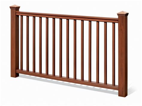 6 Foot Handrail Eon 6 Ft 42 In Traditional Handrail Kit Cedar