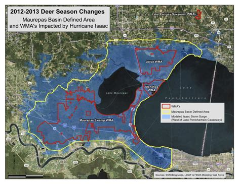 joyce louisiana map lwfc approves revised harvest for 2012 13 deer season due