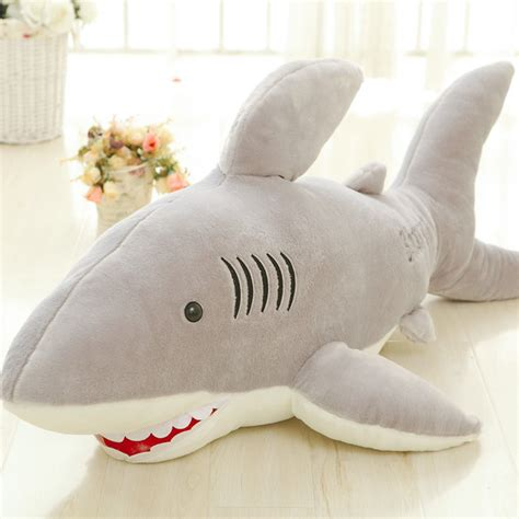 giant shark pillow giant shark stuffed animal home design