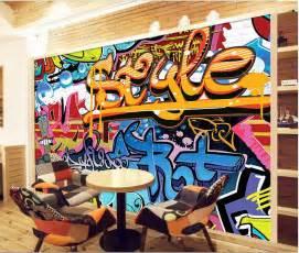graffiti wallpaper custom compare prices on custom graffiti art online shopping buy