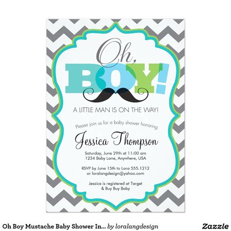 design customized baby shower invitations for a boy baby shower invitation for a boy