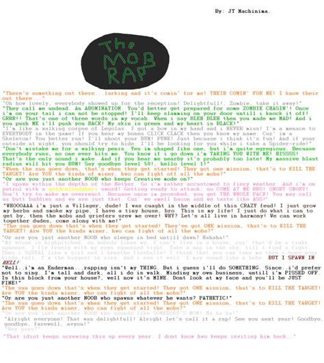 printable rap lyrics minecraft mob printable cake ideas and designs
