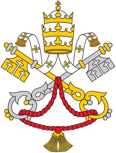 stemma santa sede santa sede la enciclopedia libre