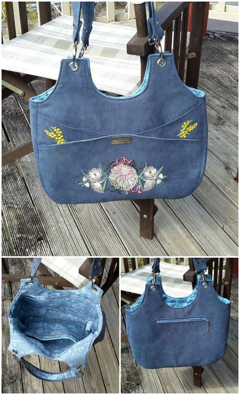 tote bag pattern with inside pockets bag sewing pattern bella lots of options inside and out