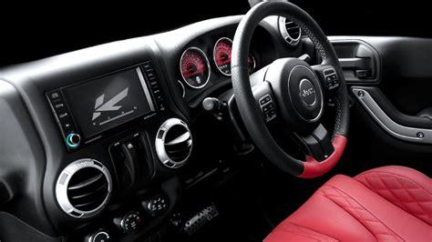 kahn jeep interior kahn presents jeep wrangler seats autoevolution