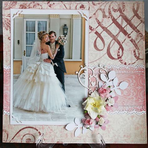 Wedding Album Scrapbook Ideas by My Wedding Album Scrapbook Wedding Scrapbooking