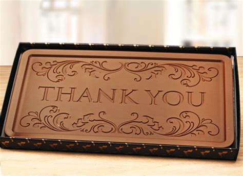 thank you letter chocolate gift create your own personalized custom chocolate