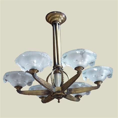 deco chandelier deco bronze ezan chandelier colin pender deco