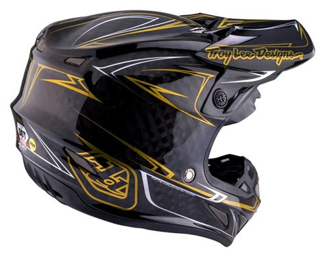 troy designs motocross helmet troy designs se4 helmet 2017 pinstripe black