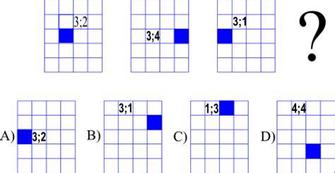 Test Di Logica Con Figure - trova la logica accomuna le figure quesito 13
