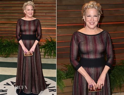 Who Wore Azzedine Alaia Better Part Deux by Bette Midler In Azzedine Alaia Vanity Fair Oscar