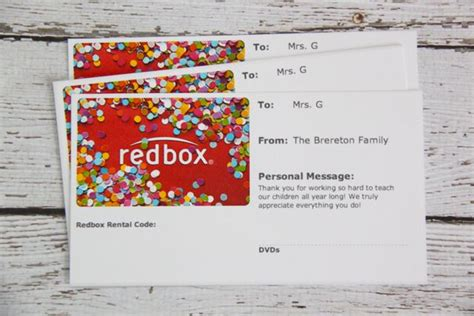 Can You Use Gift Cards At Redbox - gift idea movie night in a popcorn box with free printable smashed peas carrots