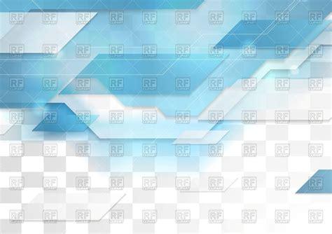transparent backgrounds bright blue tech corporate transparent background vector