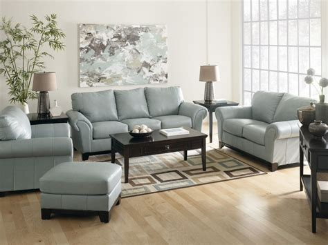 Gray Leather Living Room Set Modern House Leather Furniture Living Room Sets
