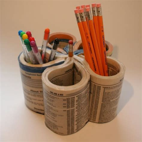 How To Make A Paper Pencil Holder - 12 creative and diy pencil holder ideas for your