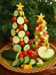 christmas tree food water centros de navidad 193 rboles comestibles paperblog