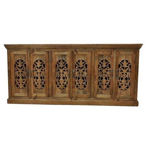 jali home design reviews jali design 6 door large sideboard natural