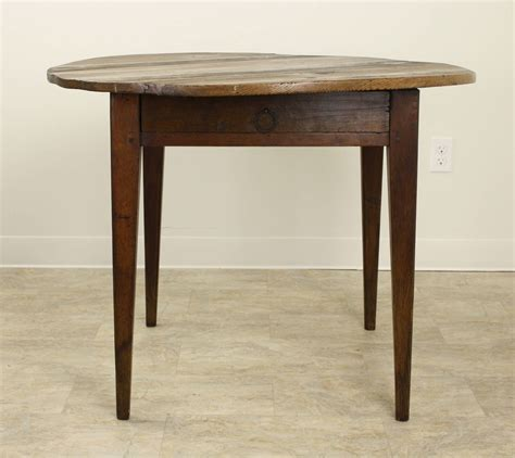 large round accent table antique french pine large round l table at 1stdibs