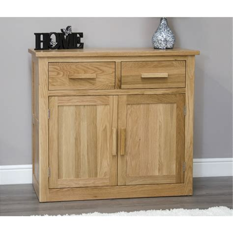 Arden Solid Oak Small Storage Sideboard Buffet Living Small Sideboard Buffet