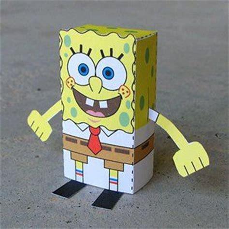 Sponge Paper Craft - 17 best images about sponge bob crafts on
