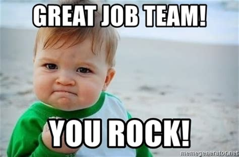 Rock Baby Meme - image gallery nice job team