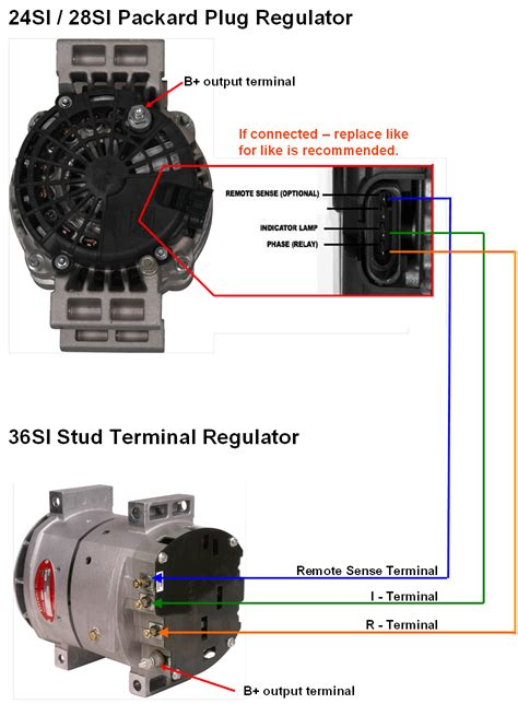 diagram delco r terminal alternator alternator relay