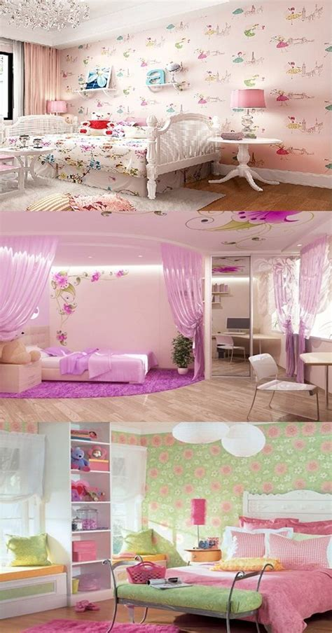bedroom wallpaper for teenage girls wallpaper border for teenage girls bedroom interior design