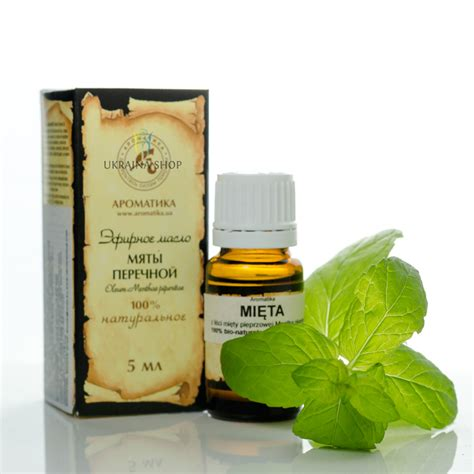 20 Ml Peppermint Essential 100 olejek mi苹towy mi苹ta 5 ml aromatika peppermint