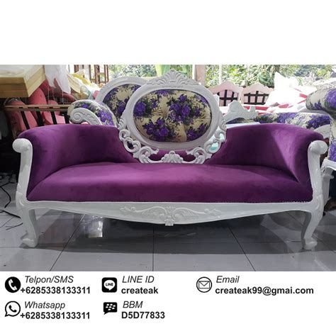 sofa pelaminan mewah createak furniture createak furniture