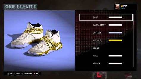 shoe creator nba 2k16 shoe creator nike kyrie 2 custom quot white gold