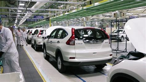 Honda Cr V Production 2016 honda cr v production