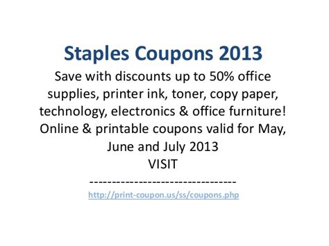 staples office furniture coupon staples coupons code may 2013 june 2013 july 2013