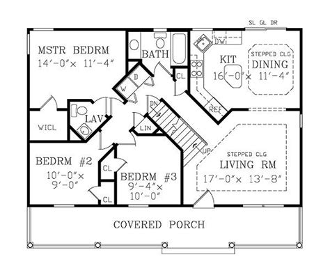 house plans with walk out basementsa 1 story house 2 bed room desien asheville small cottage 3800 3 bedrooms and 2 5 baths