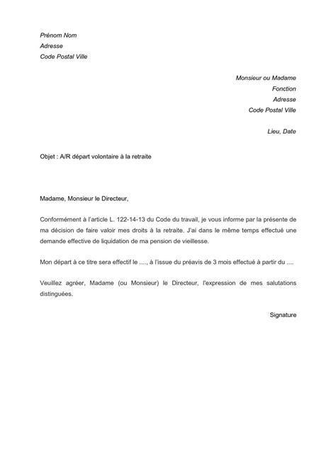 Calaméo - lettre type de départ volontaire à la retraite