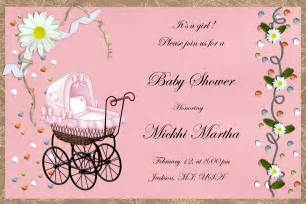 baby shower invitations for invitations templates