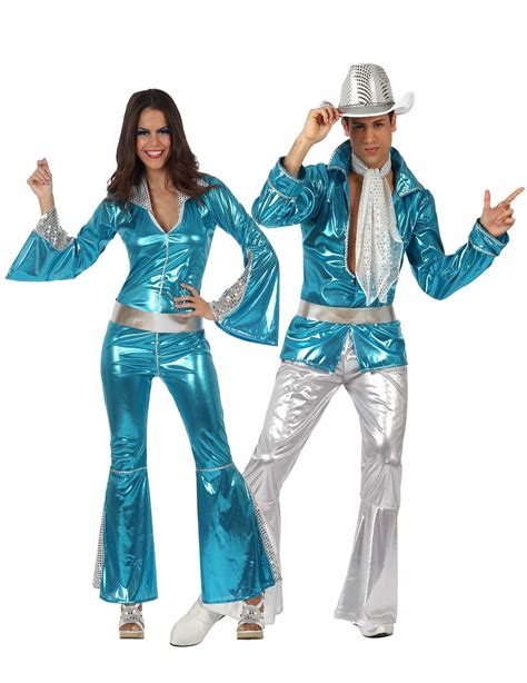 main adults costumes disco costumes for couple blue 70 s disco couples costume for adults couples