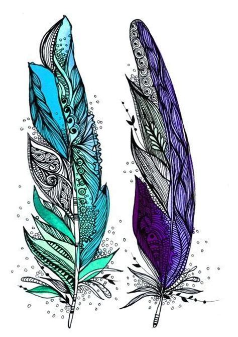 tattoo feather artistic aztec feathers feather pinterest feather tattoos