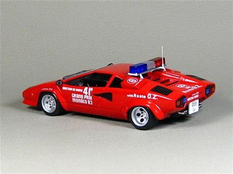 Lamborghini Safety Ixo Lamborghini Countach Safety Car Monaco Gp 1983 в 1 43