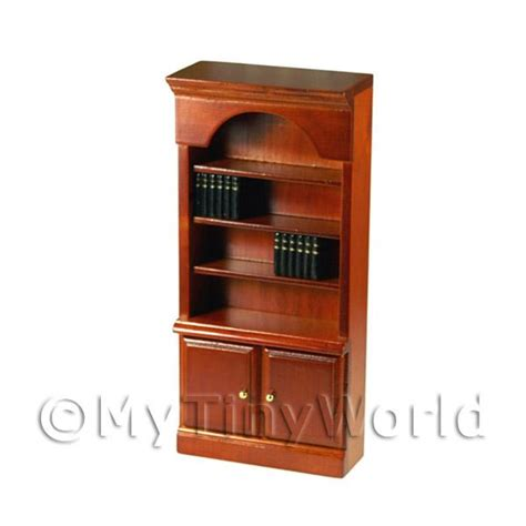 dolls house book case dolls house miniature furniture value dolls house miniautre mahogany bookcase