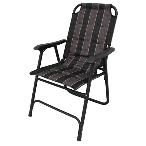 folding chairs bunnings marquee dargo steel padded folding chair i n 3191982