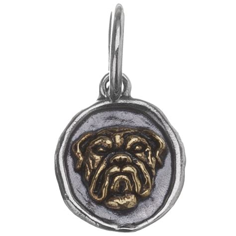 bulldog fable charm by waxing poetic