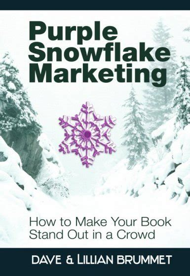 color purple book excerpt purple snowflake marketing