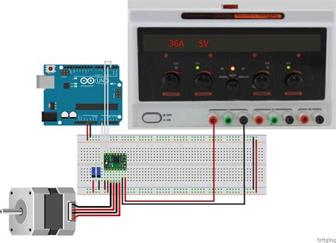 arduino stepper motor wiring diagram 36 wiring diagram