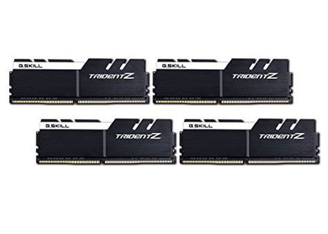 Gskill Trident Z Ddr4 32gb 4x8 Pc 28800 3600mhz F4 3600c17q 32gtz computers accessories ram find g skill products at wunderstore