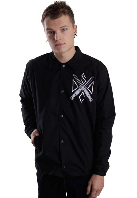 Sweater Jaket Dropdead Black drop dead instruments jacket impericon worldwide