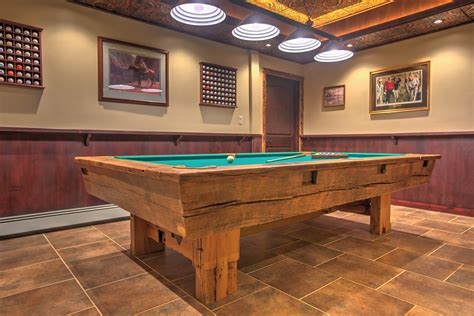 Custom Billiard 2 handcrafted custom pool tables by roaring fork custom